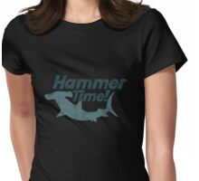 Hammerhead shark time Womens Fitted T-Shirt