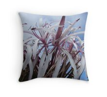 Dancing toward the sky.... Throw Pillow