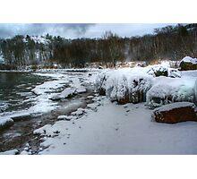Gros Cap ice rocks Photographic Print