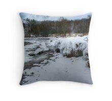 Gros Cap ice rocks Throw Pillow