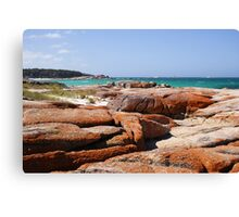 Coloured rocks! Canvas Print