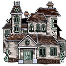 Haunted House (Full Colour) by Anthony Woodward