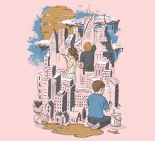 Children's City One Piece - Long Sleeve
