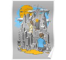 Children's City Poster