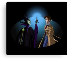 Maleficent's Surprise Canvas Print