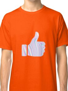 Holographic Thumbs Up Classic T-Shirt