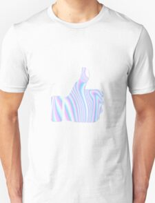Holographic Thumbs Up Unisex T-Shirt