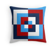 Colorful Patterns Throw Pillow