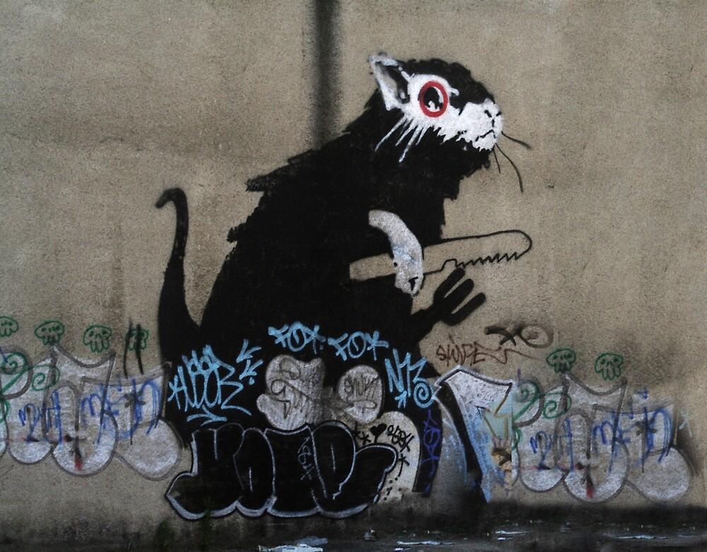 Lock pick rat  by areyarey
