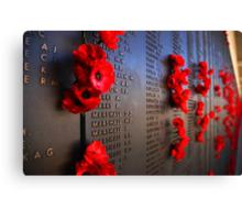 Rememberance Canvas Print