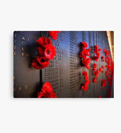 Rememberance Canvas Print