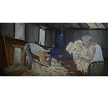 Boxing Day Shearers Photographic Print