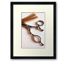 Scissors Framed Print