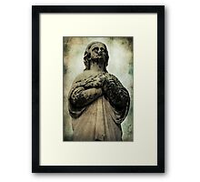 Delicate Decay Framed Print