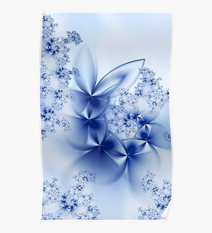 Winter Petals Poster
