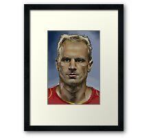 Dennis Bergkamp - Dutch Master Framed Print