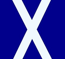 St Andrews cross 2 by Keithydee