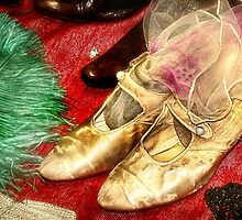 Gold Shoes by Nadya Johnson