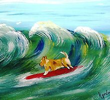 Surfin' Surprise by WhiteDove Studio kj gordon