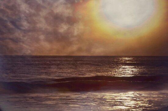 Henrys Beach Santa Barbara by Shannon Miller