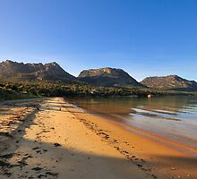 Morning light, Freycinet, Tasmania by bevanimage