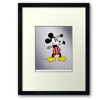 Dalek Mickey Framed Print