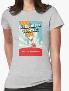 RedBubble vs. NYCC Womens Fitted T-Shirt