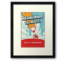 RedBubble vs. NYCC Framed Print