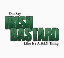 Irish Bastard Kids Tee