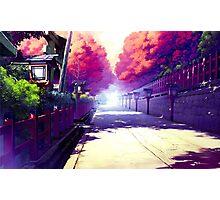 Subtle Anime Scenery 2 Photographic Print
