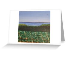 red hill winery Greeting Card