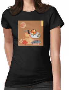 Not Ready For A Picnic Womens Fitted T-Shirt