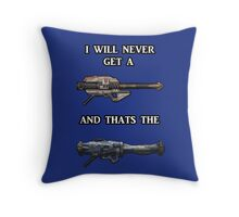 I will never get a Gjallarhorn, and that's the Truth Throw Pillow