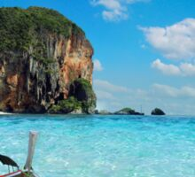 Postcard from the Andaman Sea in Thailand Sticker