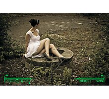 Wasteland Wanderer 3 Photographic Print