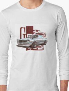 Steel Skyline Long Sleeve T-Shirt