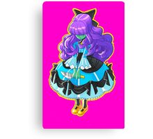 Ghost Doll Canvas Print