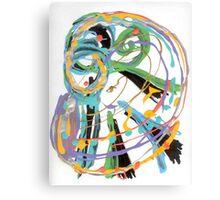 Clef, Bass (acrylic) Canvas Print