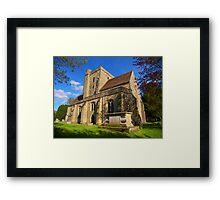 The Parish Church, Etchingham Framed Print