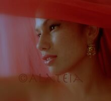 LA FILLE EN ROUGE by Alateia