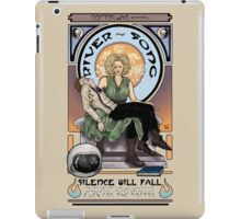 Silence Will Fall: The River's Pietà iPad Case/Skin