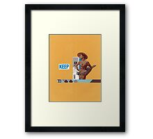 Keep 109 Framed Print