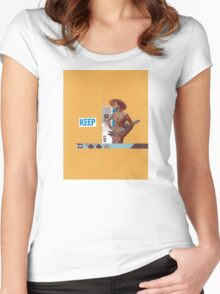 Keep 109 Women's Fitted Scoop T-Shirt