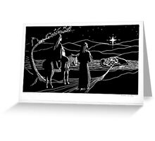 Approach to Bethlehem Greeting Card