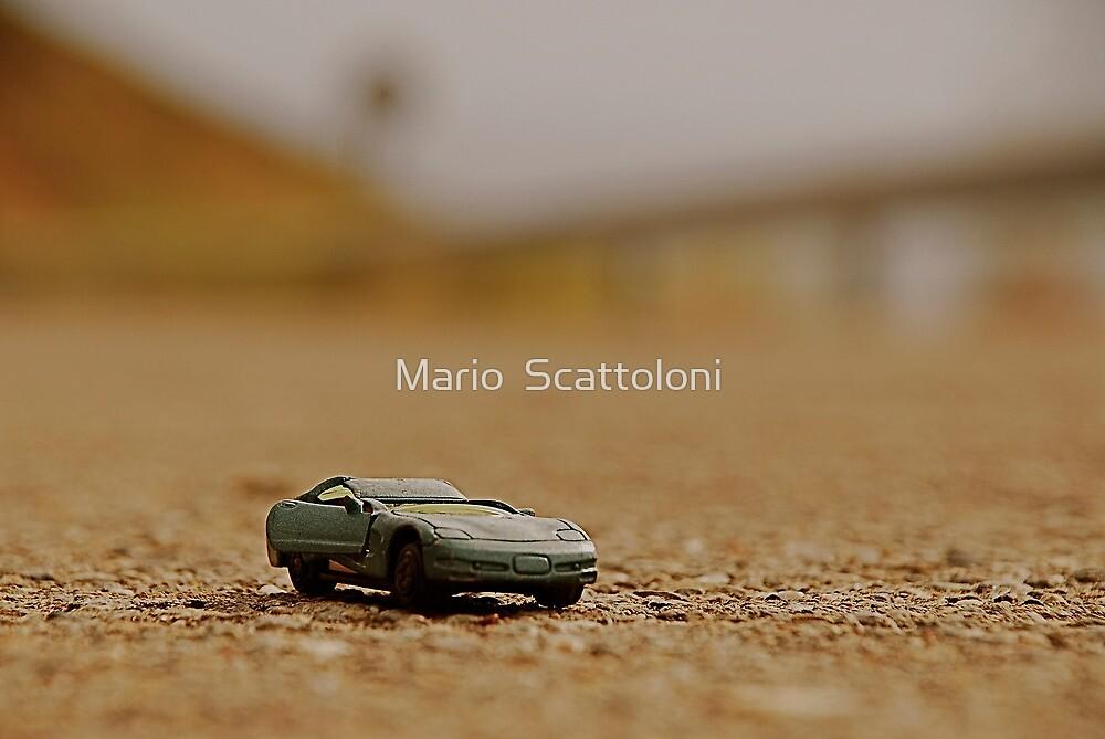 Toy Car Crash by Mario  Scattoloni