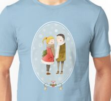 Lovers In The Snow Unisex T-Shirt