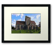 Etchingham Parish Church Framed Print