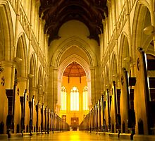 Church Aisle to Altar by steadyfromoz