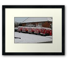 No Post Today! Framed Print