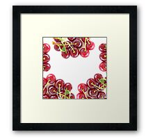 Juicy Cherries Framed Print